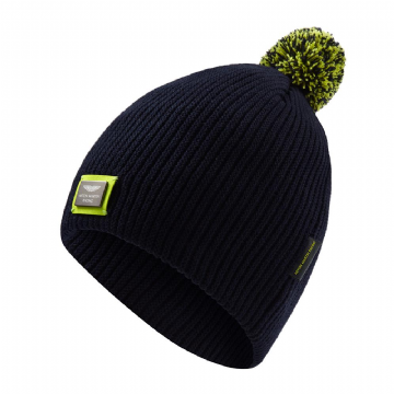 Aston Martin Racing Adults Knitted Bobble Beanie